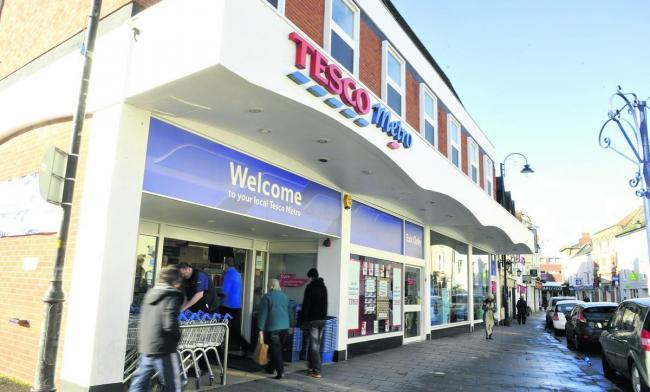 Brace has been fined for stealing DVD's from Tesco Metro in Chippenham. Pictue by Siobhan Boyle