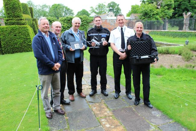 Rural Crime Drone launch