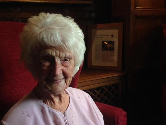 d8d4f08809 Oldest person in the UK Grace Jones has died | Wilts and ...